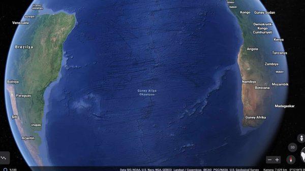 Atlantik Okyanusu Genişliyor Olabilir