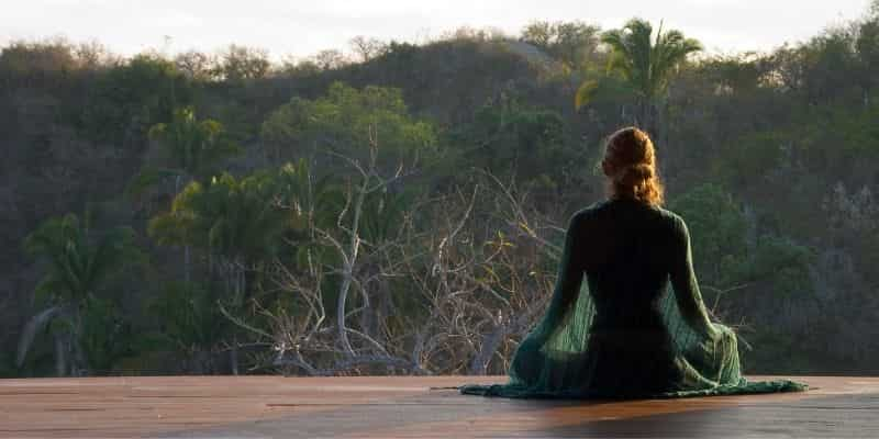 meditasyon oturuşu