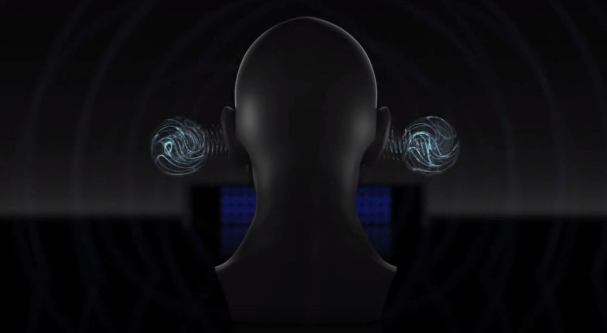 Fütüristik Ses Teknolojisi Ses Işınlama