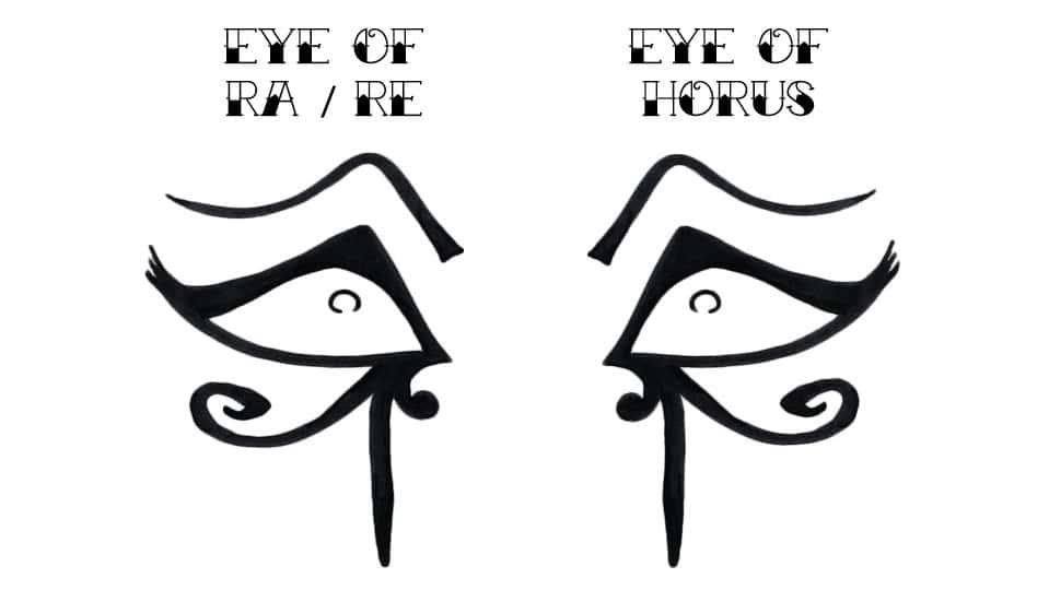 Horus ve Ra Gözlerinin Arasındaki Fark