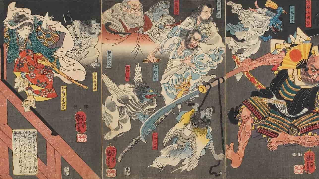 Minamoto Yoshitsune Efsanesi