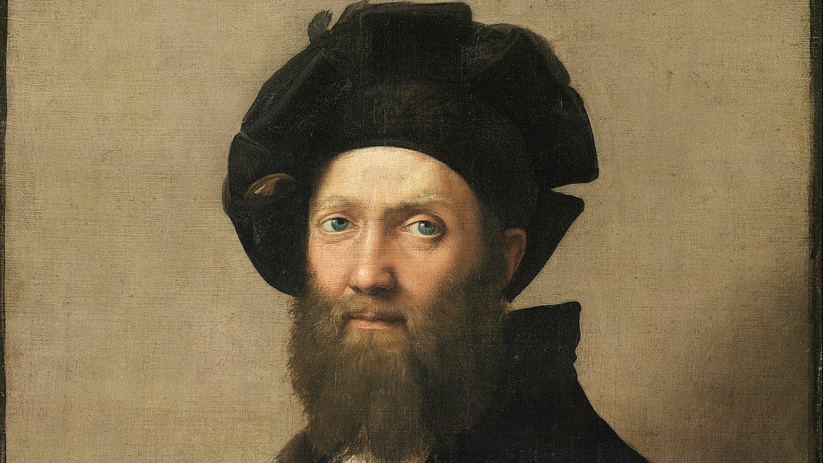 Raphael, Baldassare Castiglione Portresi (1514–1515)