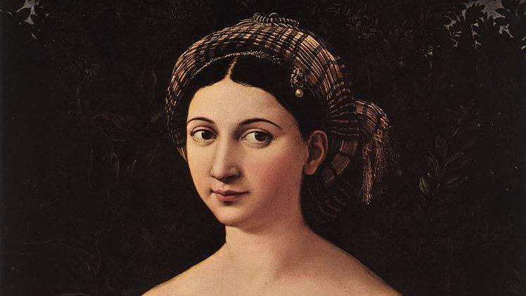 Raphael, La fornarina (1518)