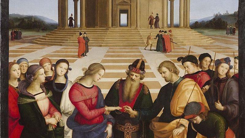 Raphael, Meryemin Evliliği. (1504)