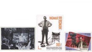 Çeşitli ülkelerde yayınlanan Ingmar Bergman pulları