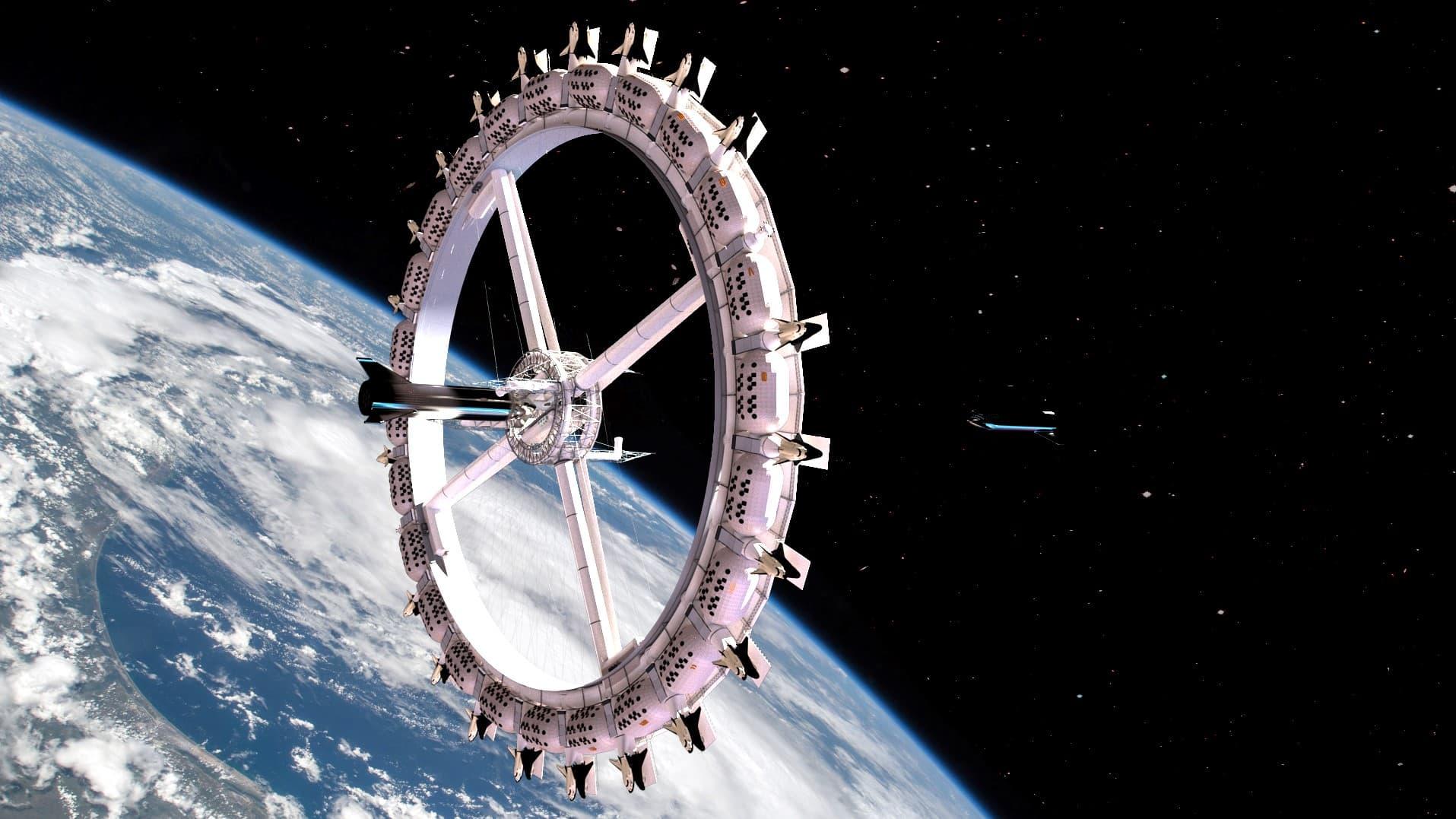 uzay oteli açılıyor