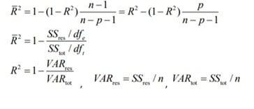 coklu regresyon formulu