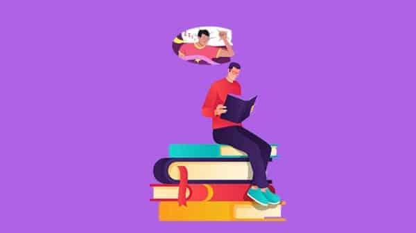 kitap okurken gelen uyku